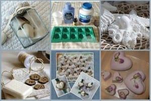 Profumatori per cassetti in pasta di borotalco +  9 idee creazioni davvero originali