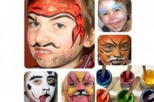 Tutorial Carnevale: come fare PITTURE per il CORPO fai da te