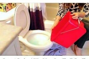Un trucco semplice e geniale per sturare senza nessuna fatica il vostro wc