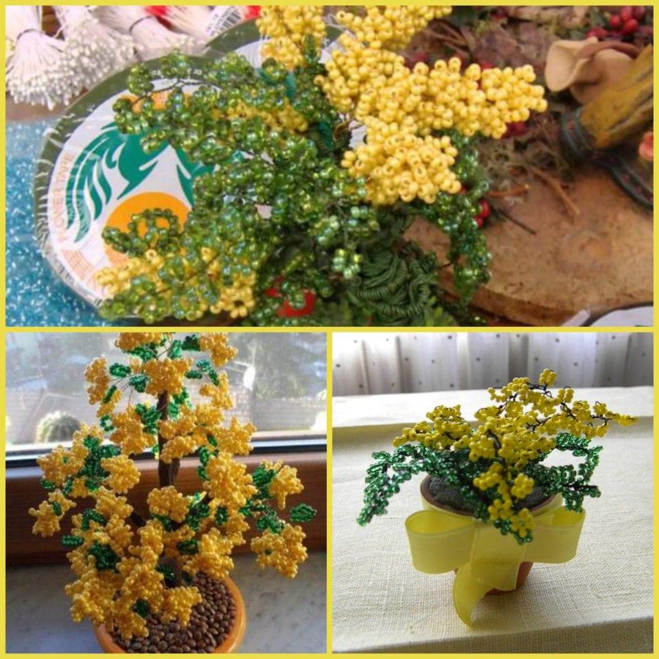 Varie Tecniche Per la Realizzazione di Mimose Fai da Te + Video Tutorial