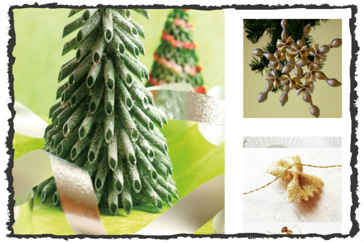 Lavoretti Di Natale Con Pasta Cruda.Decorazione Con La Pasta Cruda 31 Idee Creative Tutte Per Voi