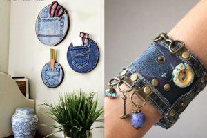20 superidee per creare piccoli riciclo jeans