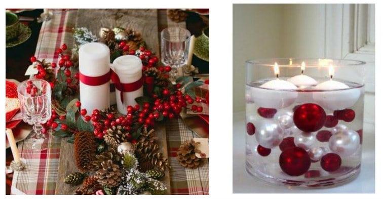 20 idee per realizzare dei centrotavola natalizi in meno di 5 minuti - Centrotavola natalizi pinterest ...