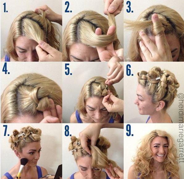 capelli ricci fai da te