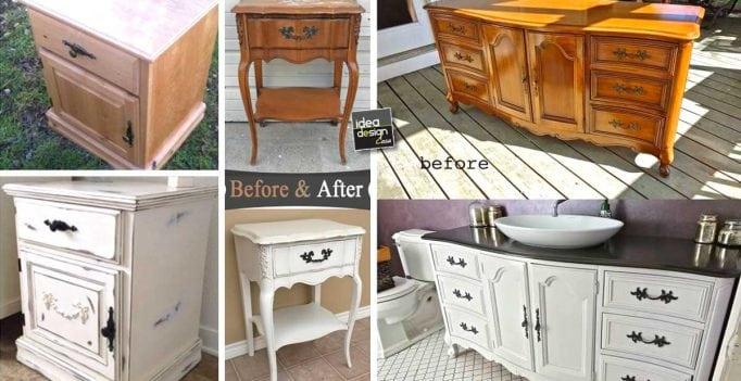 Ecco come riciclare e rinnovare vecchi mobili in stile Shabby Chic ...