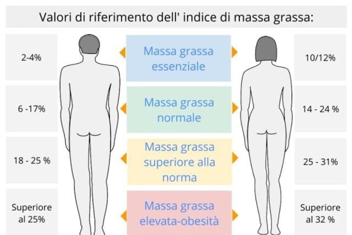 ecco come calcolare la tua massa grassa