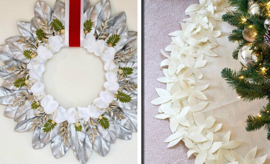 Decorazioni Natalizie Con Foglie Di Magnolia.10 Decorazioni Semplicemente Stratosferiche Per Il Nostro