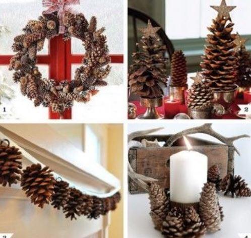 b692c344f5 Idee Per Natale.Natale 2018 Con Le Pigne Ecco 25 E Idee Di Riuso Creativo