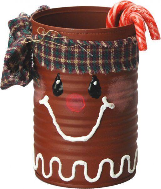 BARATTOLI Natale Babbo Natale Renne Le fantasie di casa Barattolo in Ceramica Lucida Porta Biscotti e dolciumi con Decoro Natalizio