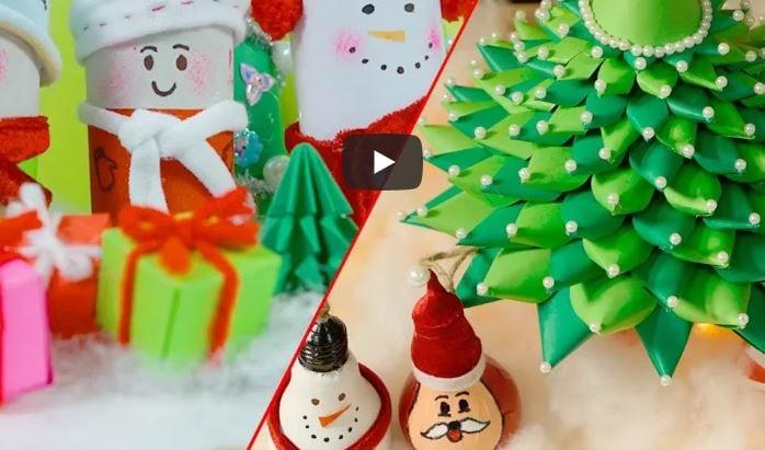 Decorazioni Natalizie 2019 Fai Da Te.Decorazioni Di Natale Fai Da Te Facili Veloci Ed Economiche