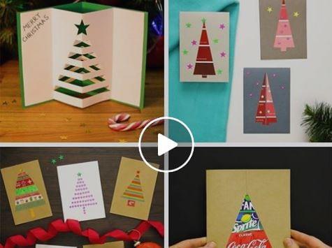 Art Attack Lavoretti Di Natale.Biglietti Di Auguri Fai Da Te Semplici E Unici Spendendo Poco
