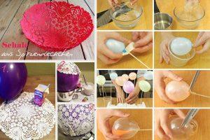 20 idee di ricicli e palloncini decorazioni