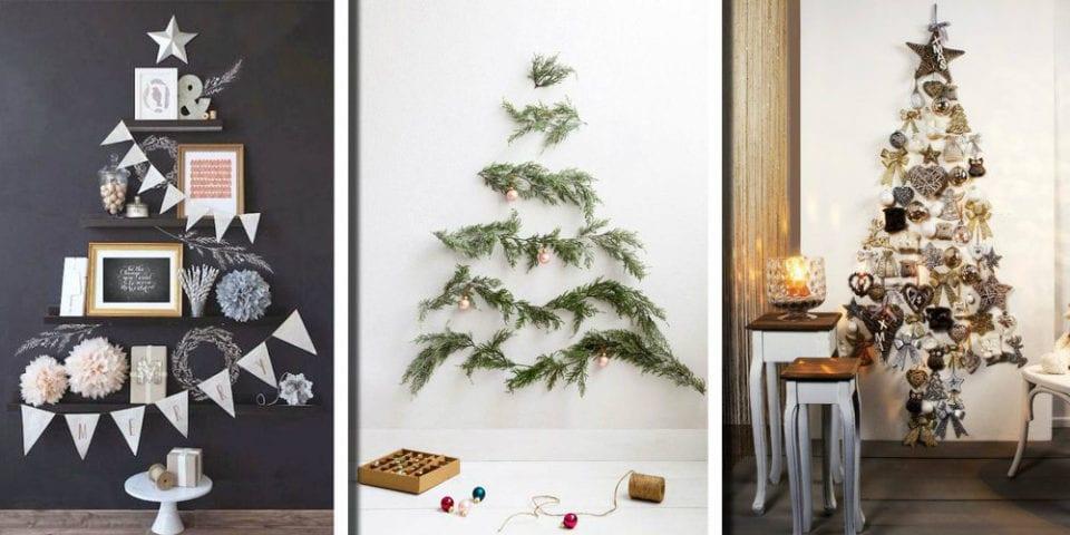20 idee di design per un albero di natale per piccoli for Piccoli appartamenti di design