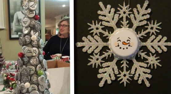 Riciclo tappi di birra: 31 idee per creare decori natalizi a costo zero