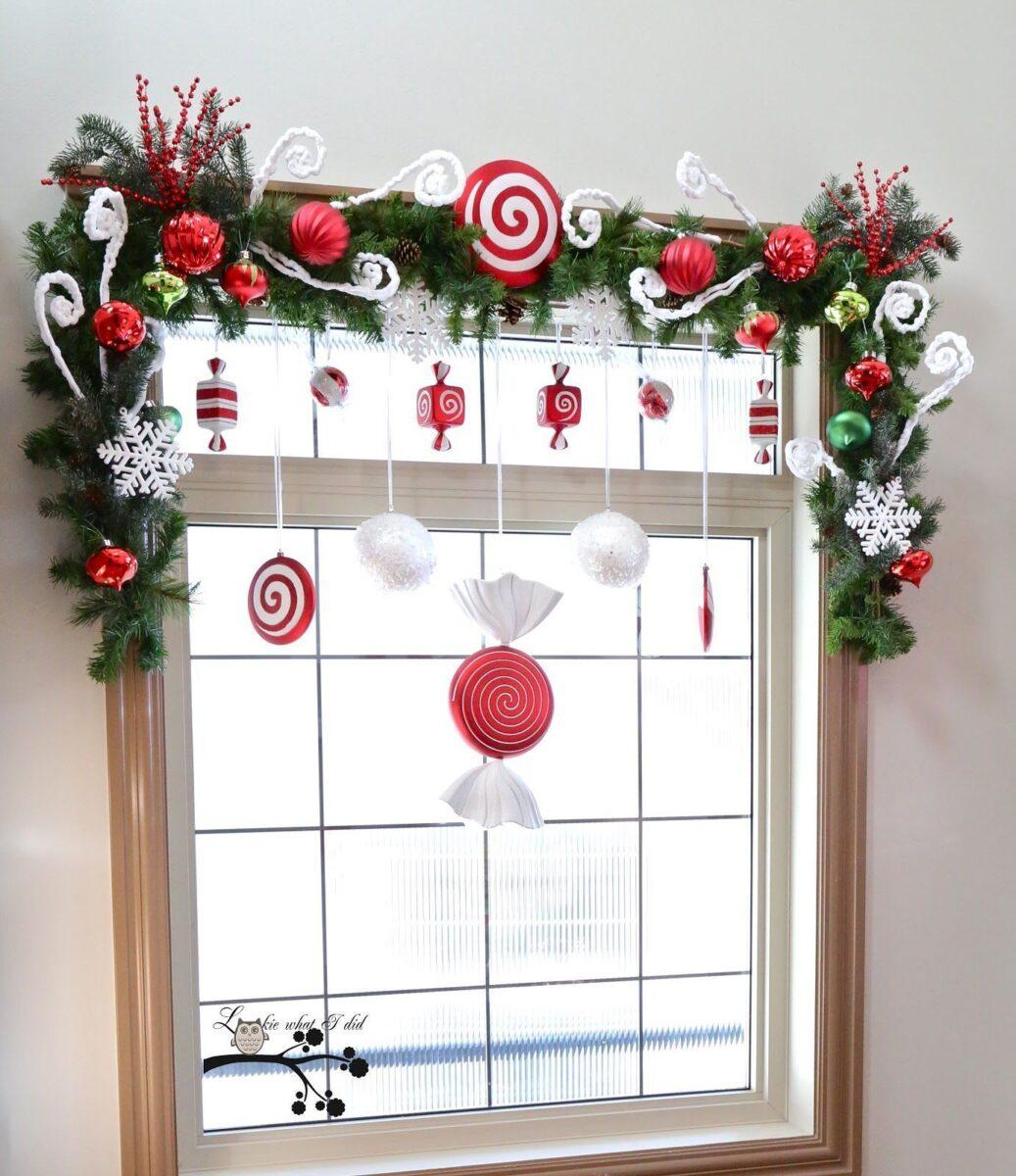Addobbi Natalizi per decorare finestre e balconi