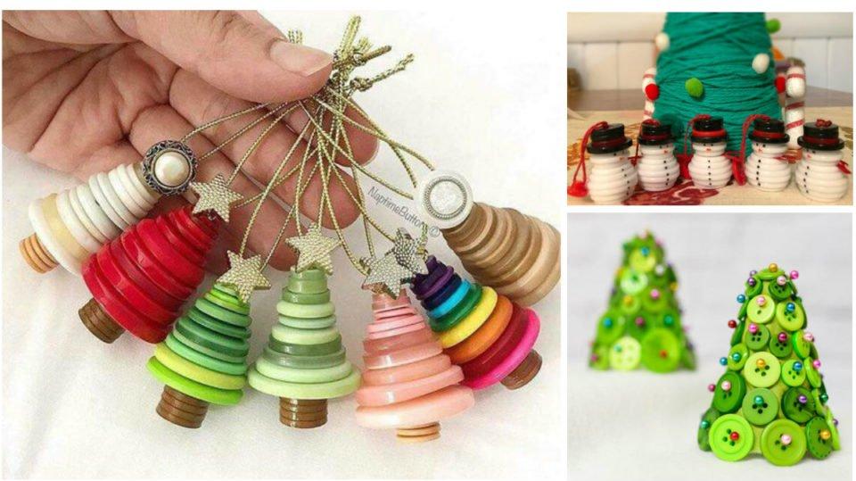 25 Idee Su Come Riutilizzare I Bottoni Per Le Decorazioni