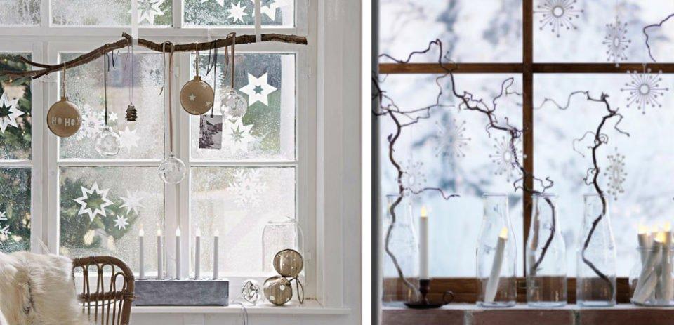 Decorazioni natalizie per addobbare finestre e balconi 20 idee per voi - Decorazioni natalizie finestre ...