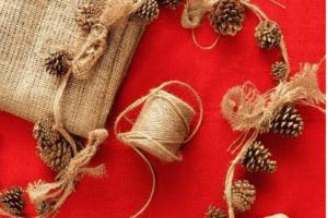 Gli ornamenti perfetti per un Natale rustico. 20 idee da realizzare