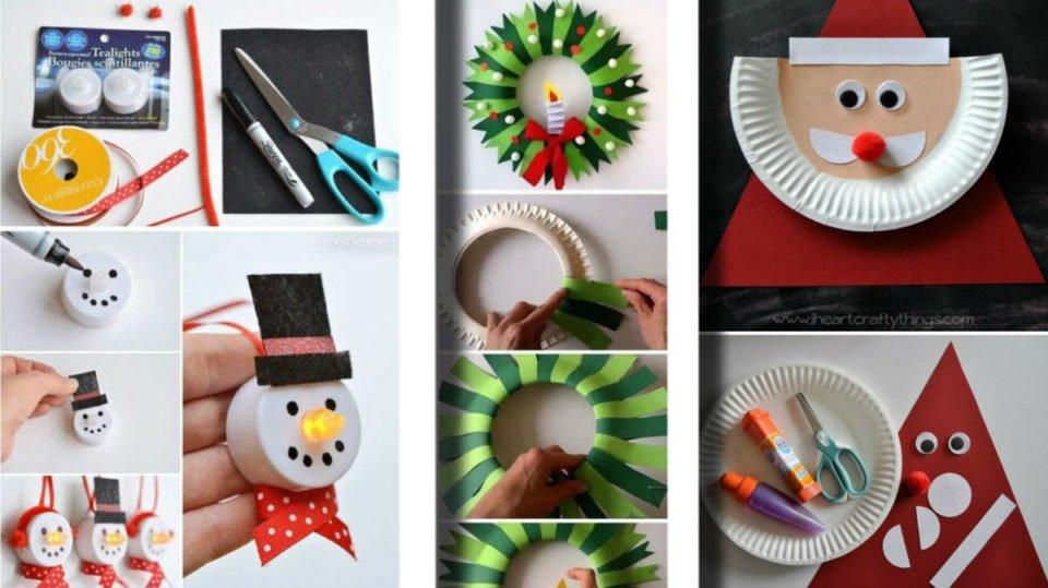 Lavoretti di Natale per bambini: 20 idee ottime per le scuole