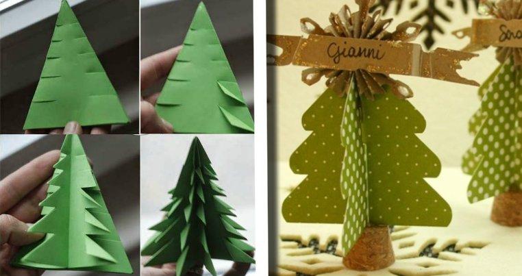 Lavoretti Di Natale 30 Mini Alberi Ottimi Anche Come Segnaposto Lavoretti Di Natale 30 Mini Alberi Ottimi Anche Come Segnaposto