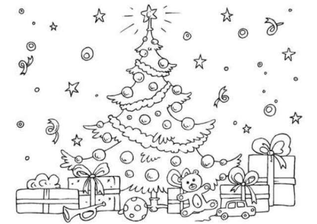 Disegni Di Natale Da Colorare Per Adulti.Disegni Di Natale Ecco I Disegni Migliori Per Addobbare