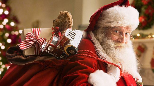 Babbo Natale Video Per Bambini.Babbo Natale E Il Suo Videomessaggio Ai Bambini Guarda Il Video