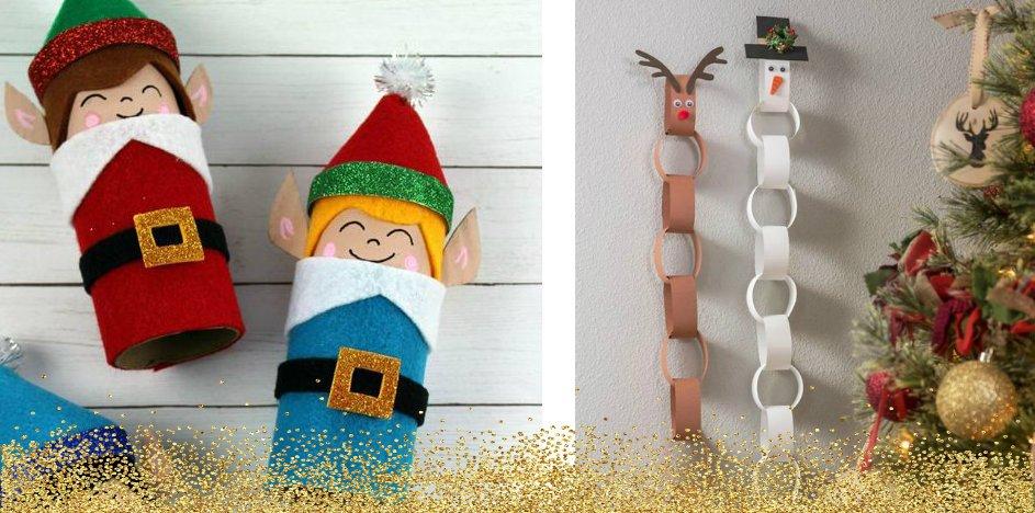 Lavoretti Di Natale Con La Carta Igienica.Lavoretti Natalizi Per Bambini 30 Idee Riciclando Rotoli Di Carta Igienica