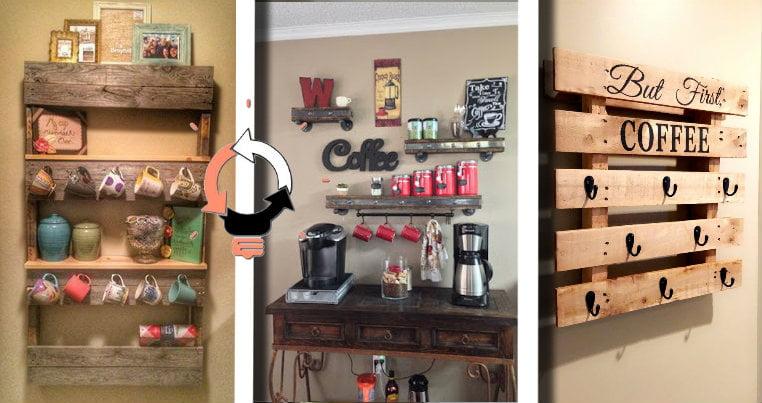 Idee Salvaspazio Cucina Fai Da Te.Tazzina Da Caffe 20 Porta Tazze Da Caffe Di Riciclo E Fai Da Te