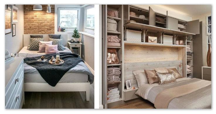 Camera da letto piccola: organizzare gli spazi per un ...