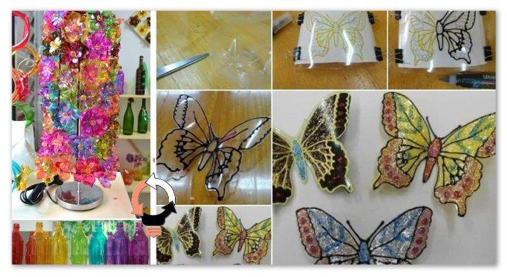 Bricolage Con Bottiglie Di Plastica.Bottiglie Di Plastica 42 Fantastiche Proposte Di Riciclo Artistico