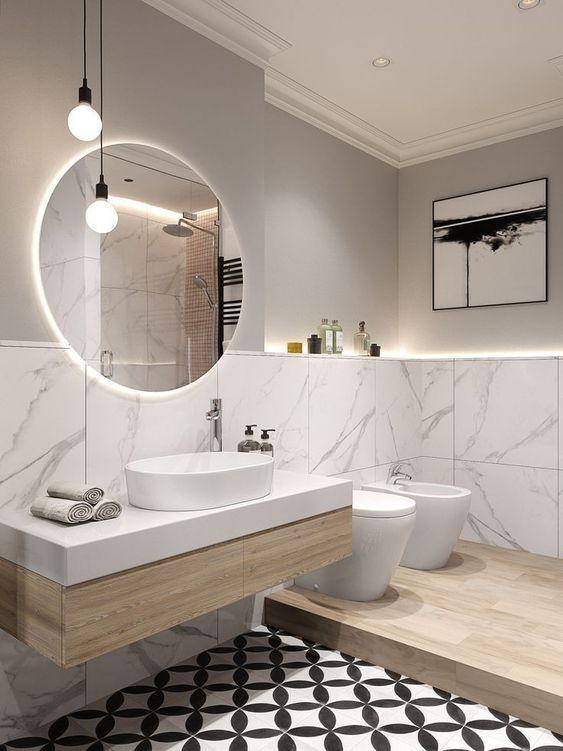 Bagno Moderno Con Gradino.Bagno Moderno O Minimal Arredare Casa Con Piacere E Gusto