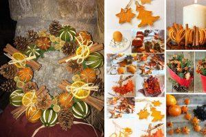 30 decorazioni fai da te decorazioni con bucce