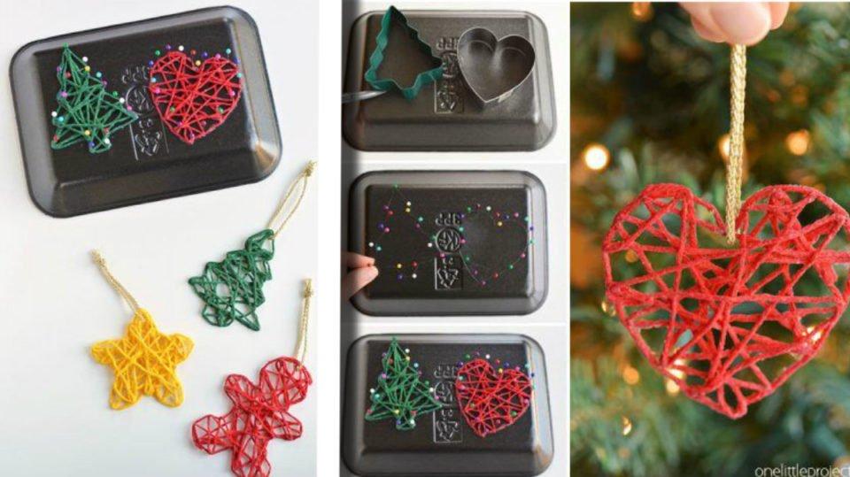 Riciclo Scampoli Di Lana 25 Decorazioni Di Natale Fai Da Te
