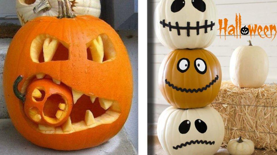 Fare Una Zucca Di Halloween.Ecco 59 Idee Per Creare La Migliore Zucca Di Halloween Da Fare Invidia Agli Amici