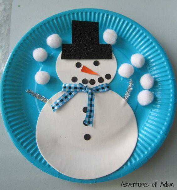 Lavoretti Di Natale Con Piatti Di Plastica.Lavoretti Di Natale 20 Idee Con I Piatti Di Carta O Plastica
