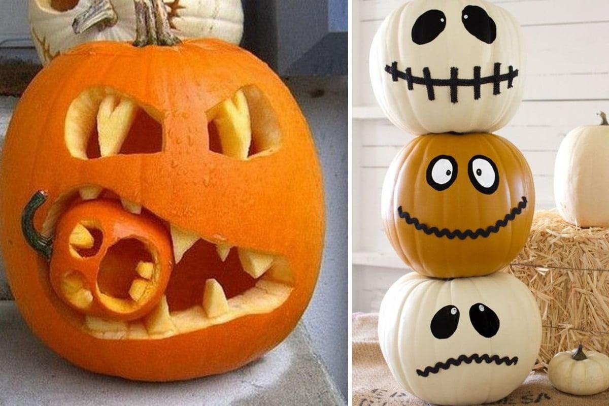 ecco 59 idee per creare zucche halloween