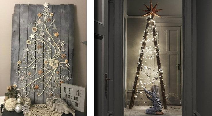 Alberi Di Natale Alternativi Foto.Albero Di Natale Alternativo 30 Idee A Cui Ispirarsi