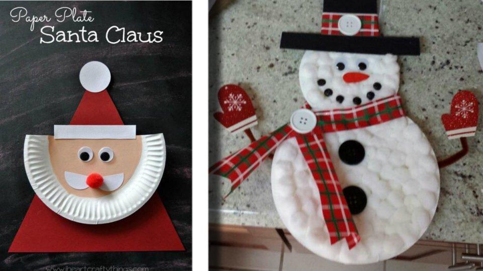 Lavoretti Di Natale Con La Plastica.Lavoretti Di Natale 20 Idee Con I Piatti Di Carta O Plastica