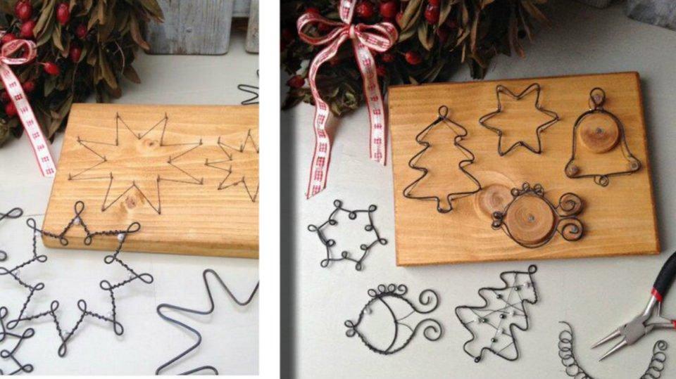 Kreattiva Lavoretti Di Natale.Fil Di Ferro Fai Da Te 31 Fantastiche Decorazioni Natalizie Semplici Ed Economiche