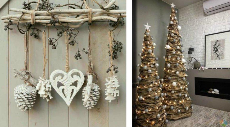 Natale in stile shabby chic: 22 decorazioni di riciclo che ...
