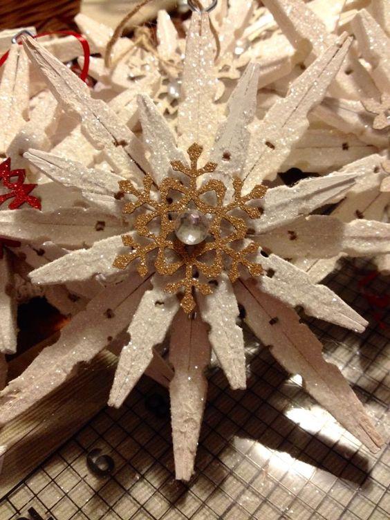 Lavoretti Con Mollette Di Legno Per Natale.Lavoretti Di Natale Con Le Mollette Da Bucato 20 Idee Semplici Semplici