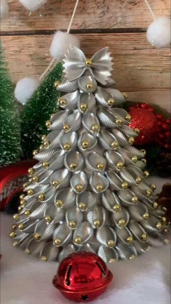 Alberi Di Natale Bellissimi Immagini.Alberi Di Natale Con Pasta Cruda Ecco 22 Modi Per