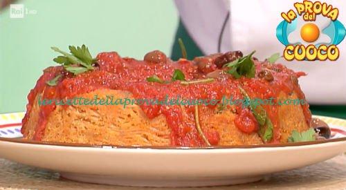 ciambellone di spaghetti alla puttanesca