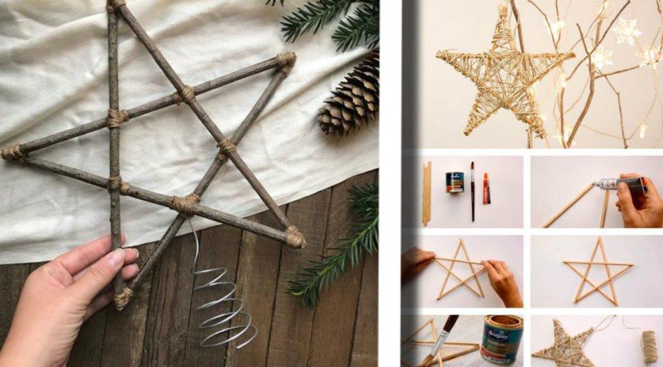 Stelle di Natale fai da te: 20 idee per decorare interni ed esterni a costo 0