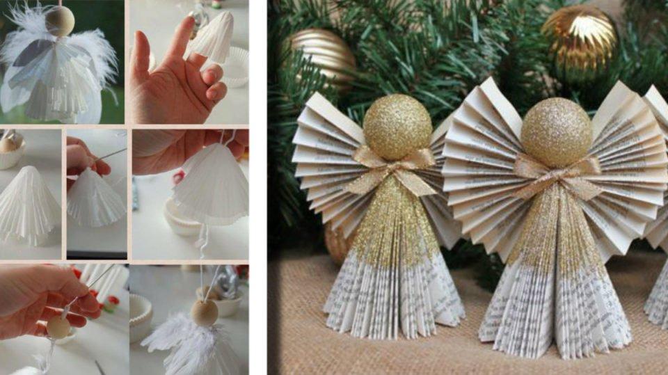 Angeli Lavoretti Di Natale.Angeli Di Carta 20 Idee Strepitose Con Cartamodelli Da Scaricare