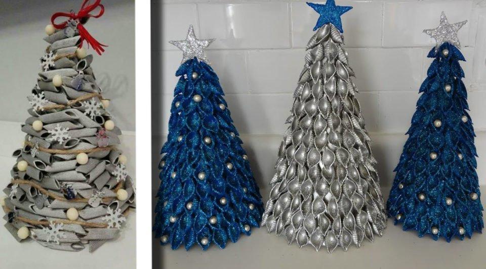 Albero Di Natale Con Le Foto.Alberi Di Natale Con Pasta Cruda Ecco 22 Modi Per Realizzarne Di Bellissimi