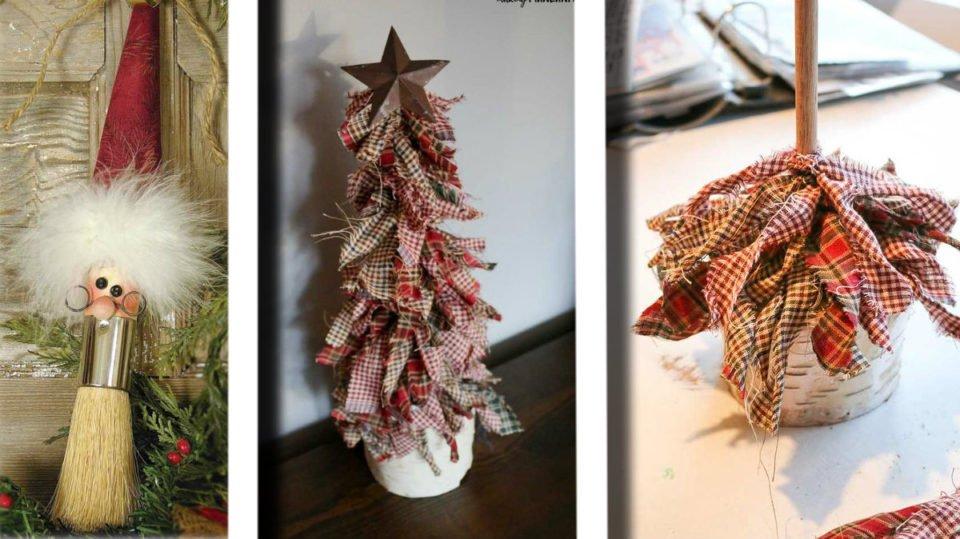 Addobbi natalizi in stile shabby chic: 20 idee di riciclo creativo che ti stupiranno