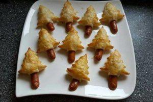 Alberi di Natale: antipasto salato in due varianti eccezionali