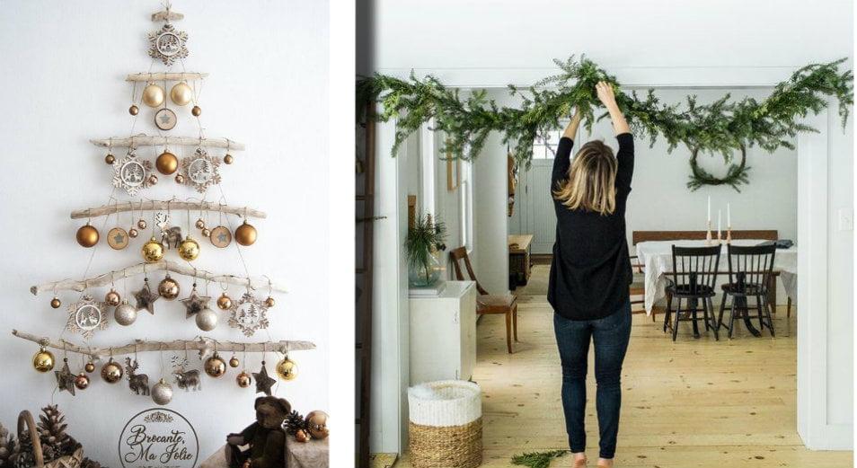 Un Tocco Di Natale Per Addobbare Con Stile I Piccoli Ambienti