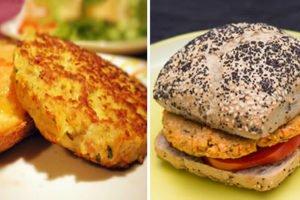 hamburger di avena e carote